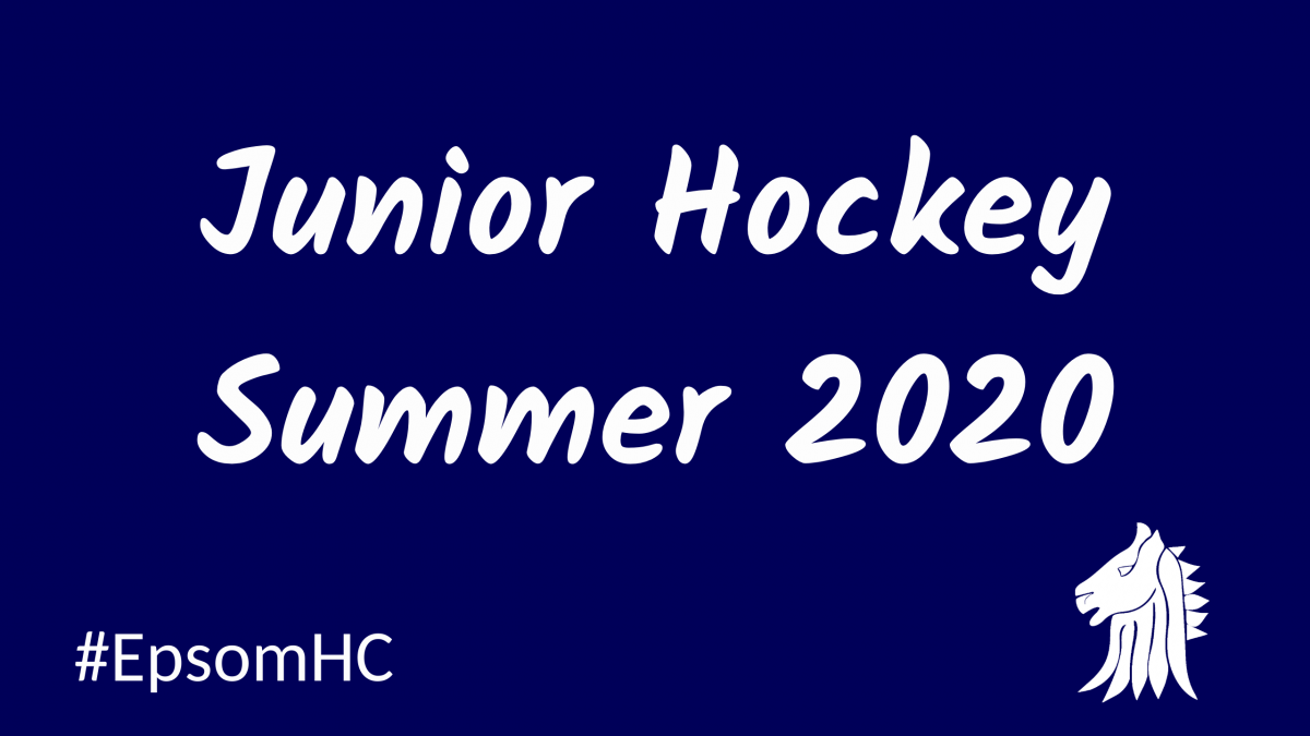 Junior hockey programme summer 2020