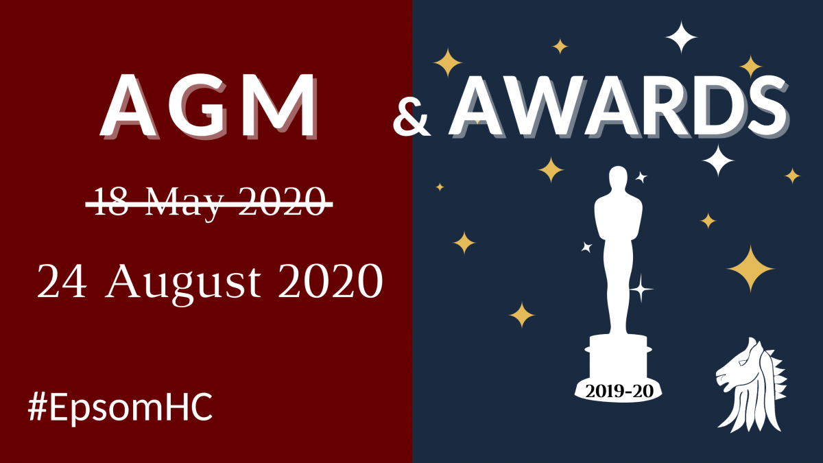 Epsom Hockey Club AGM and Awards 2019-20