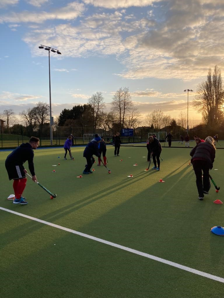 Back to hockey session
