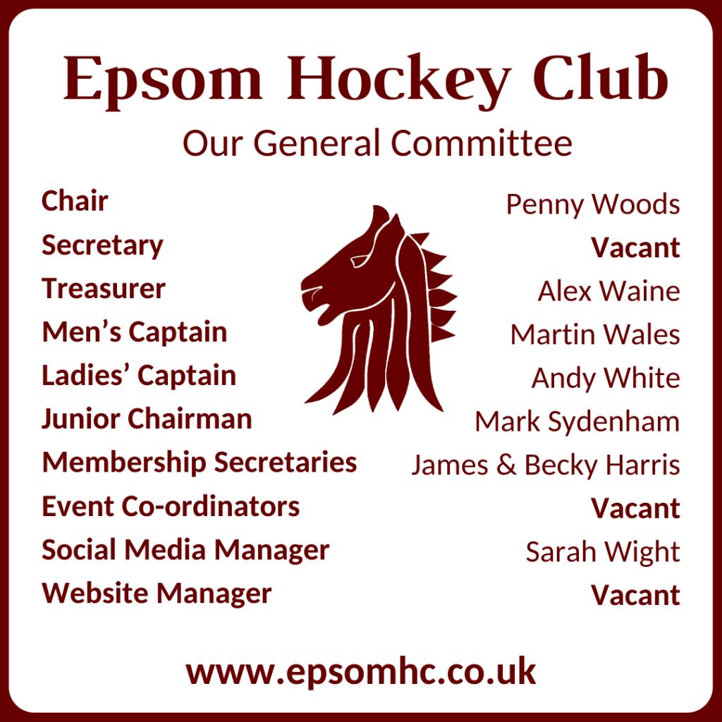 Epsom HC General Committee 2021